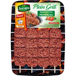 Plein Grill - Brochettes de bœuf à la provençale