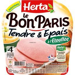 Le Bon Paris - Jambon Tendre & Epais à l'étouffée