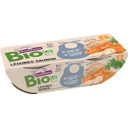 Légumes saumon BIO, dès 6 mois