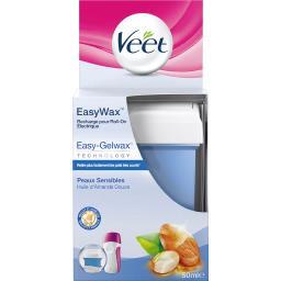 Easy Wax - Recharge roll on électrique peaux sensibl...