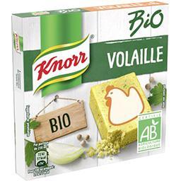 Knorr Bouillon de volaille BIO