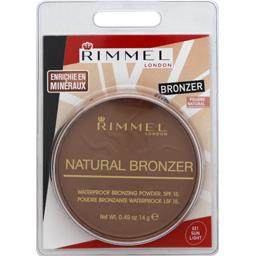 Rimmel London Natural Bronzer - Poudre bronzante Sun Light 021