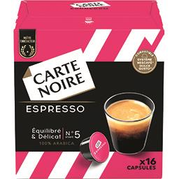 Carte Noire Capsules Espresso n°5 équilibré & délicat