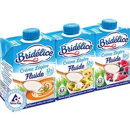 Bridelice Crème légère fluide 12% MG