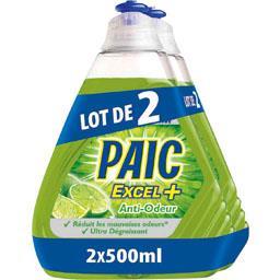 Excel+ - Liquide vaisselle anti-odeur