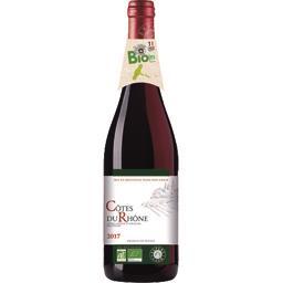 Côtes du Rhône BIO, vin rouge