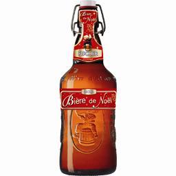 Bière de Noël aromatisée