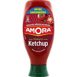Amora Tomato ketchup, tomates mûries en plein champs