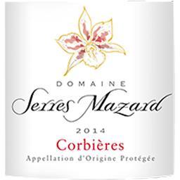 Corbières Domaine Serres Mazard vin Rouge 2014