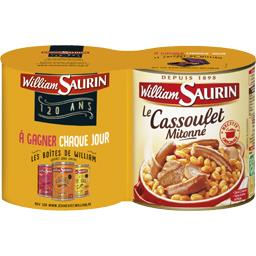 Plat cuisiné cassoulet William Saurin