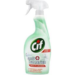 Nettoyant anti bactérien multi-usages sans javel