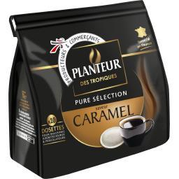 Dosettes de café saveur caramel