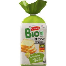 Chabrior Brioche tranchées pur beurre BIO le paquet de 400 g