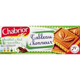 Biscuits Tableau d'Honneur chocolat au lait et noise...
