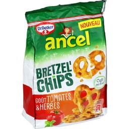 Bretzel'Chips - Biscuits apéritif goût tomates & herbes