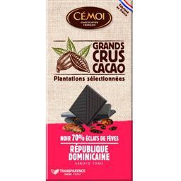 Chocolat noir 70% éclats de fèves BIO