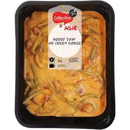 Bœuf Thaï au curry rouge
