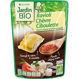 Jardin Bio Ravioli chèvre ciboulette BIO