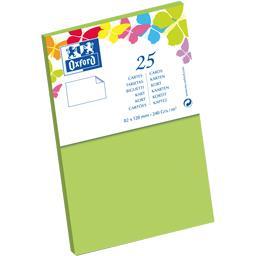 Carte de visite 82x128 240 g vert