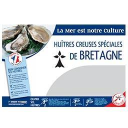 Huître spécial BRETAGNE N°3