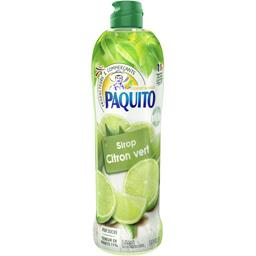 Sirop citron vert