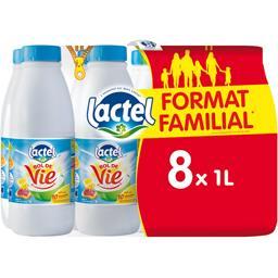 Lactel Lait Bol de Vie aux 10 vitamines