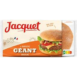 Jacquet Pain Burger géant brioché