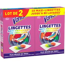 Lingettes Ultra Anti-Décoloration Vanish