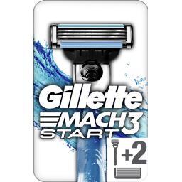 Mach3 - start - rasoir pour homme + 2 lames