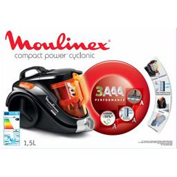 Aspirateur sans sac Compact Power Cyclonic, rouge