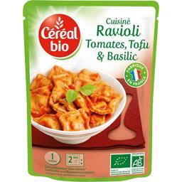 Cuisiné Ravioli tomates, tofu & basilic BIO