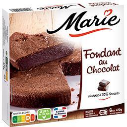 Marie Le Fondant au chocolat