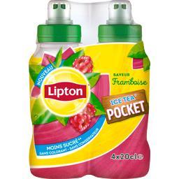 Ice Tea Pocket - Boisson saveur framboise