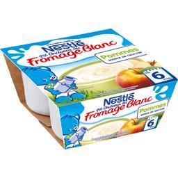 P'tit Onctueux - Fromage blanc pommes, 6+ mois