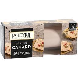 Délice de canard 20% foie gras