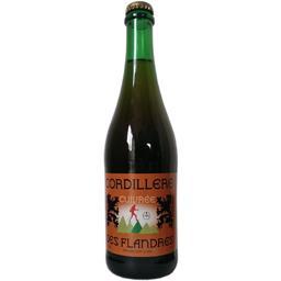 Cordillère des Flandres Bière blonde cuivrée la bouteille de 75 cl