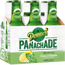 Panachade - Bière sans alcool citron & menthe