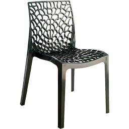 Chaise Gruvyer coloris anthracite