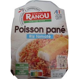 Poisson pané riz tomaté
