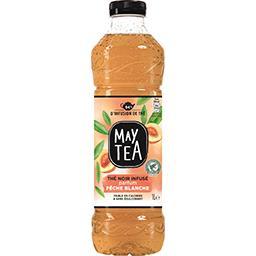May Tea Thé infusé glacé thé noir parfum pêche blanche