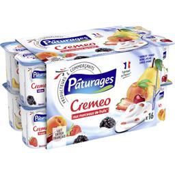 Yaourt au lait entier avec des fruits - Cremeo