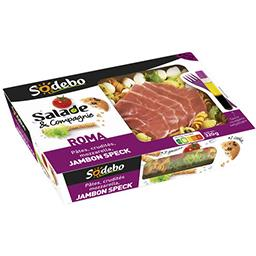 Sodeb'O Salade & Compagnie - Salade Roma jambon Speck
