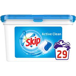Active Clean - Capsules de lessive double action