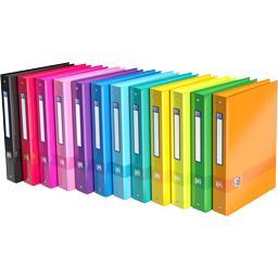 Elba Classeur 4 anneaux Color Life A4 dos 40 mm coloris a...