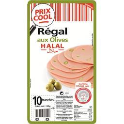 Régal aux olives halal