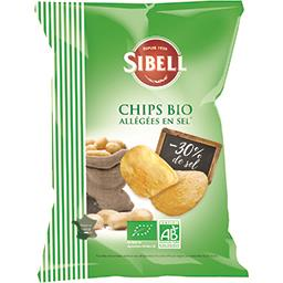 Chips allégées en sel BIO