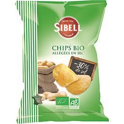 Sibell Chips allégées en sel BIO
