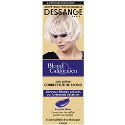 Soin patine correcteur de blond à rincer Blond Calif...