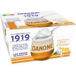 Danone 1919 - Yaourt au lait entier fleur d'orange