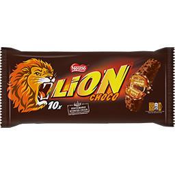 Lion - Barres chocolatées caramel & céréales